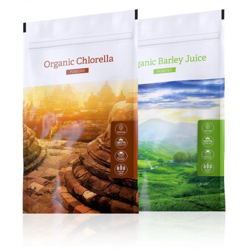Barley juice POWDER + Chlorella POWDER