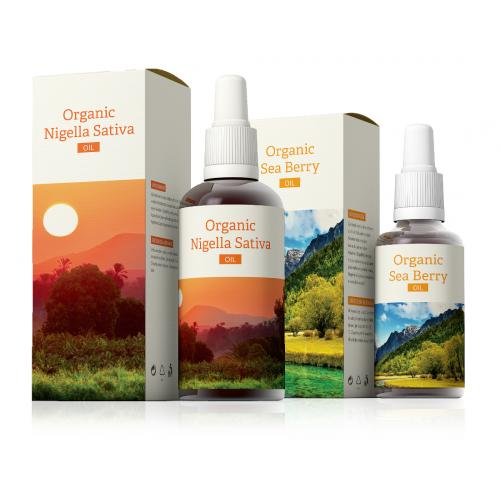 Organic Nigella Sativa + Organic Sea Berry oil