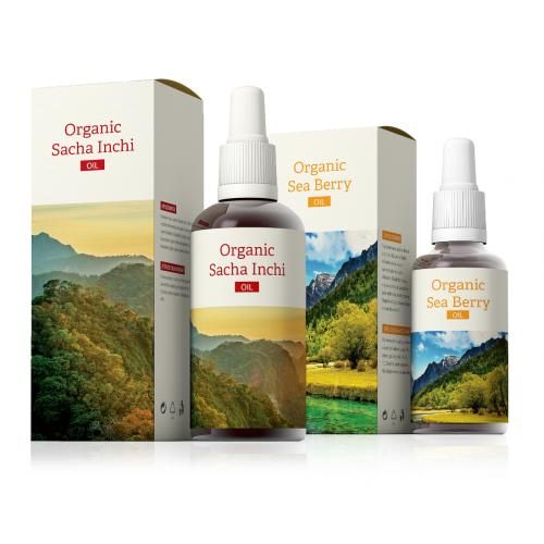 Organic Sacha Inchi + Organic Sea Berry oil