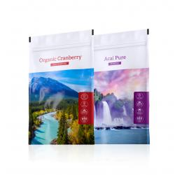 Organic Cranberry powder + Acai Pure powder