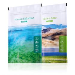 Barley TABS + Hawaii Spirulina POWDER